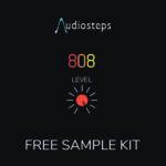 Audiosteps 808 Level – Free Sample Kit Cover min