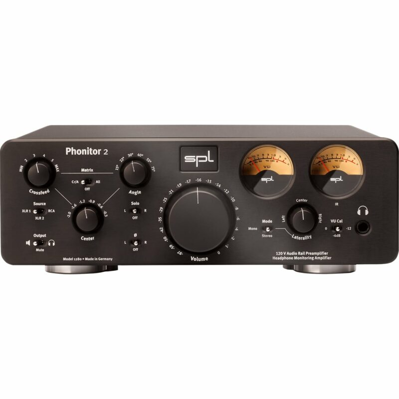 SPL Phonitor 2 front black